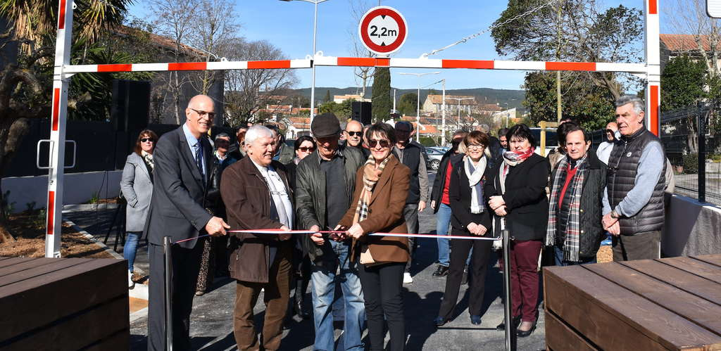 Parking inauguration